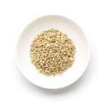 Japanese barnyard millet with husks Royalty Free Stock Photo