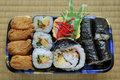 Japanese bento Royalty Free Stock Photos