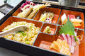 Japanese Bento meal set Royalty Free Stock Photography