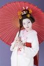 Japanese bride Royalty Free Stock Photo