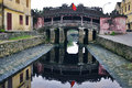 Japanese Bridge in Hoi An. Vietnam. Royalty Free Stock Photo