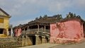 The Japanese Bridge in Hoi An Ancient Town Royalty Free Stock Photo