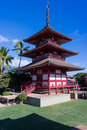 Japanese building in Maui Royalty Free Stock Photography