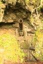 Japanese cannon world war ii hidden cave peleliu island palau Stock Images