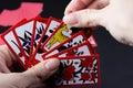 Japanese card game hanafuda Royalty Free Stock Photo