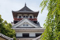 Japanese castle architecture of the edo period Stock Image