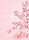Japanese cherry blossom Royalty Free Stock Photo