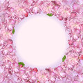 Japanese cherry blossom background clip art Royalty Free Stock Photo