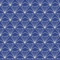 Japanese, Chinese traditional asian geometric seamless pattern