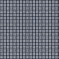 Japanese crossing bamboo fence pattern