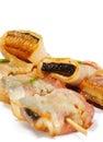 Japanese Cuisine - Conger Royalty Free Stock Photo