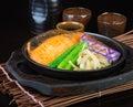 Japanese Cuisine. Hot Plate Fi...