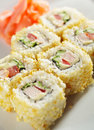 Japanese Cuisine - Maki Sushi Stock Photos