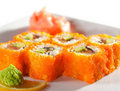 Japanese Cuisine - Maki Sushi Royalty Free Stock Photos