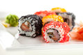 Japanese Cuisine - Sushi Royalty Free Stock Photo