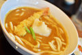 Japanese curry Udon noodles Royalty Free Stock Image