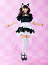 Japanese cute lolita maid Royalty Free Stock Image