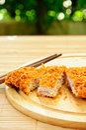 Japanese deep fried pork Stock Images