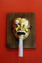 Japanese devil mask Royalty Free Stock Photo
