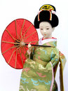 Japanese Doll Royalty Free Stock Photo