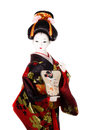 Japanese doll geisha Royalty Free Stock Photo