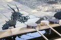 Japanese dragon Royalty Free Stock Photo