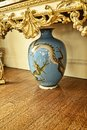 Japanese Dragon Vase at a Beautiful Country House near Leeds West Yorkshire that is not a National Trust Property Royalty Free Stock Photo