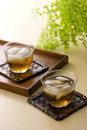 Japanese drink in summer Royalty Free Stock Image