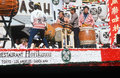 Japanese drummers Stock Photography