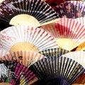 Japanese fans Stock Photos