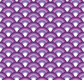 Japanese fish scales seamless vector texture Royalty Free Stock Photo
