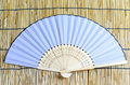 Japanese folding fan. Royalty Free Stock Photos