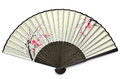 Japanese folding fan. Stock Photography