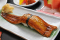 Japanese food japanese eel sushi Stock Photo