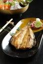 Japanese food roast eel Royalty Free Stock Images