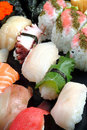 Japanese food(sushi) Royalty Free Stock Photo
