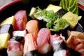 Japanese food sushi nigiri