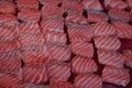 Japanese foods,macro on sushi Royalty Free Stock Photo