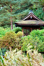Japanese Garden House Stock Photos