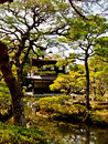 Japanese garden the style of ginkakuji temple kyoto japan Stock Photography
