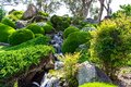 Japanese gardens in cowra new south wales australia Royalty Free Stock Photos