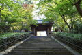Japanese gardens and temple temples of kyoto Royalty Free Stock Photos