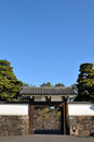 Japanese gate Royalty Free Stock Photo