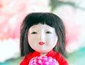 Japanese, Geisha.doll. Royalty Free Stock Photo