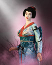 Japanese Geisha Girl, Japan Woman