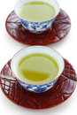 Japanese green tea Royalty Free Stock Image