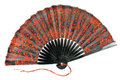 Japanese hand fan Royalty Free Stock Photography