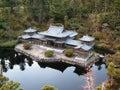 Japanese house Stock Image