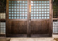 Japanese house door