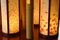 Japanese Interior Lamp Royalty Free Stock Photo